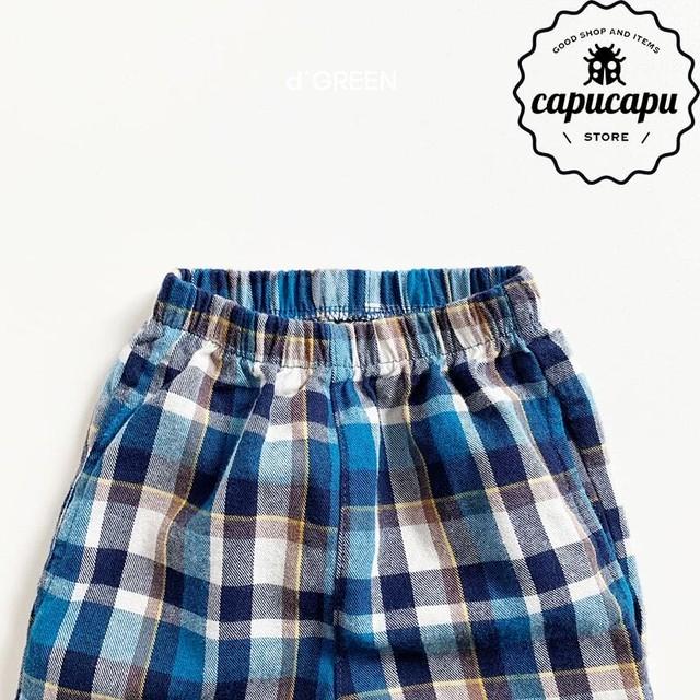 [sold out] check pants チェックパンツ
