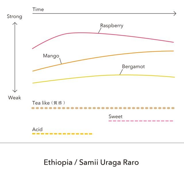 Ethiopia - Samii Uraga Raro / 150g