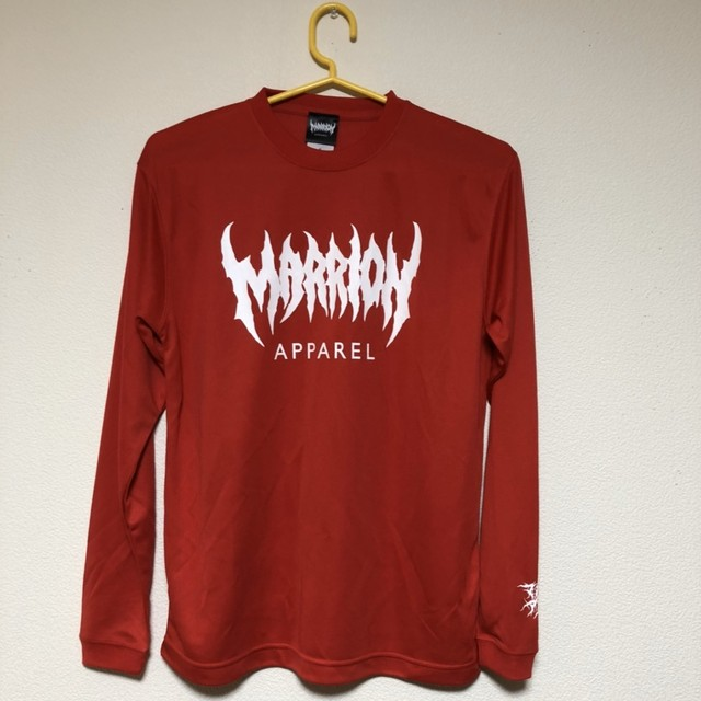 MARRION APPAREL DRY LONGSLEEVE (RED)