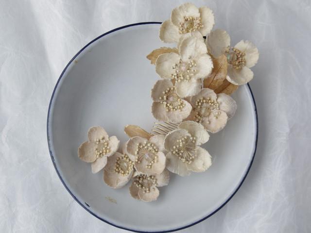 【オーダー用】小菊の髪飾り
