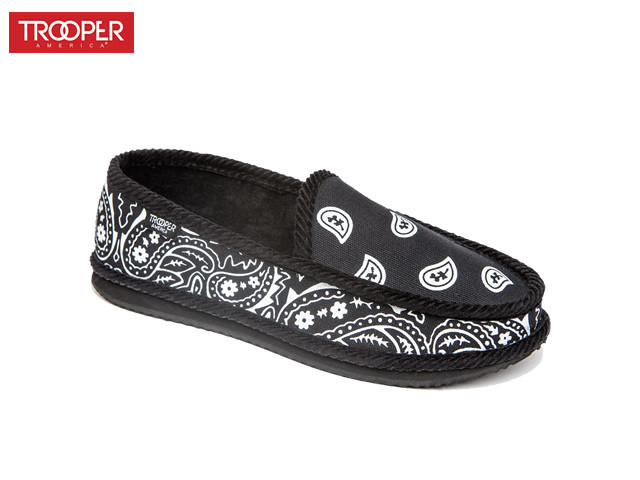 TROOPER AMERICA| Bandana SLIPON (Black)