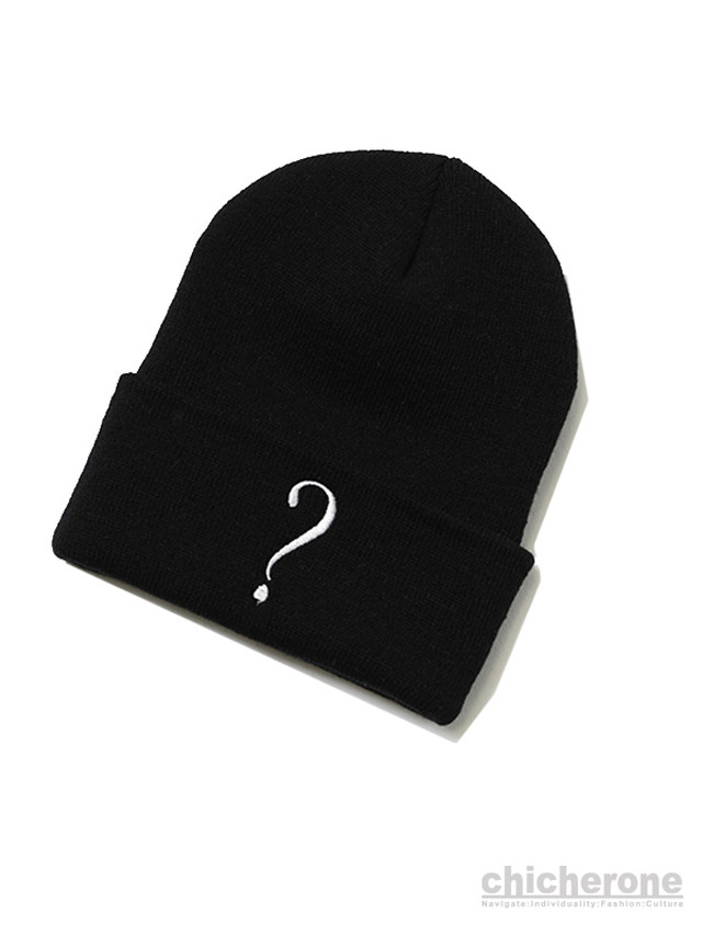 【 SILLENT FROM ME 】QUERY -Beanie- BLACK