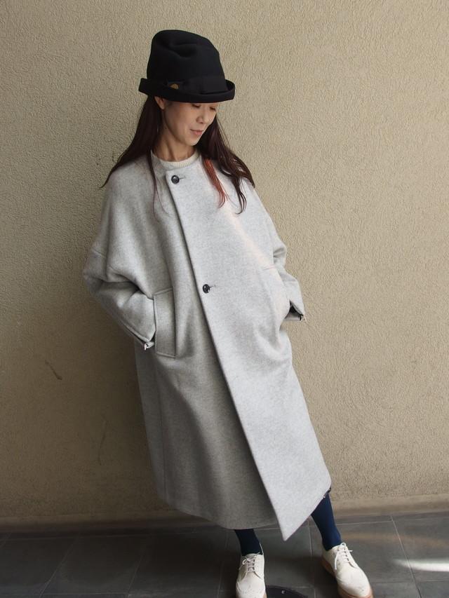 ノーカラースムースコート【near.nippon / 62545】