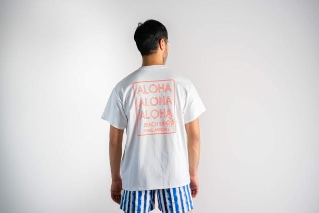 ALOHA NEON S/S TEE (orange)