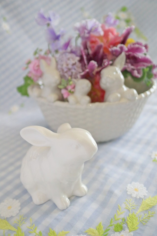 Garden Bunny オブジェ