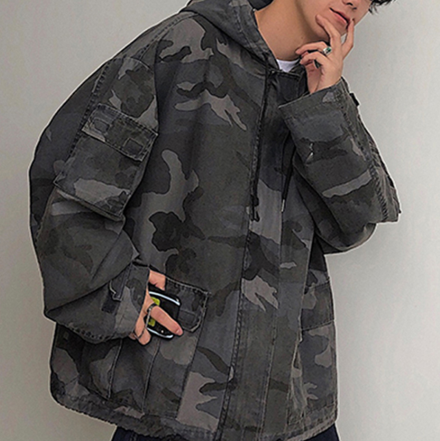 Camouflage parker LD0243