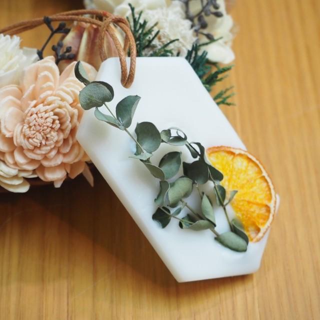 【wisterio+aroma】アロマワックスサシェ・11月作品②