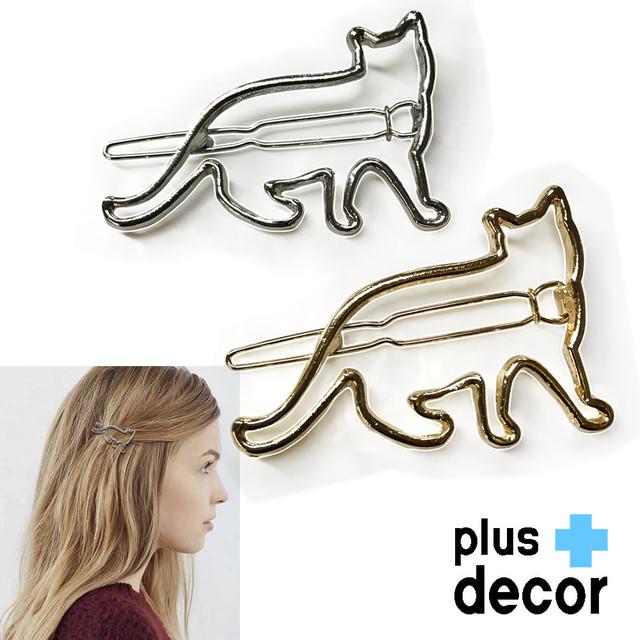 猫ヘアクリップ(ねこ枠)全2種類