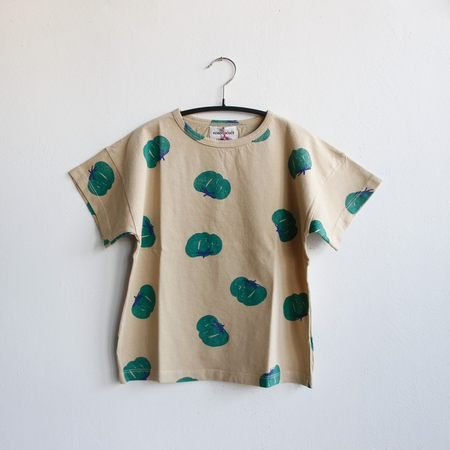 《BOBO CHOSES 2021SS》Tomatoes All Over T-Shirt / 2-9Y