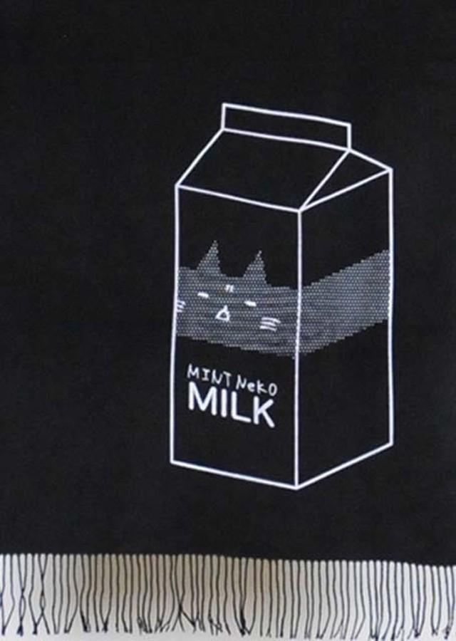 牛乳ストール BK