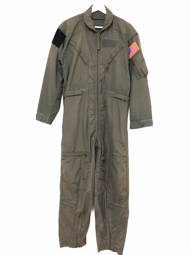 ① 50's USAF L-1A Navy Wool Overalls