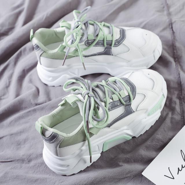 pastel double ribbon sneaker PD1739