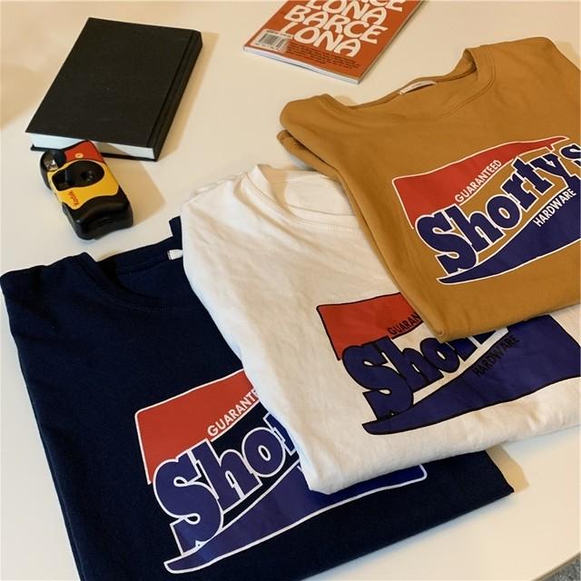 大学風のレトロなオーバーシャツ