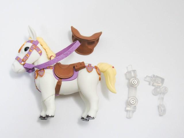 【1212】 ゼルダ ブレス オブ ザ ワイルドVer. 小物パーツ 王家の白馬 ねんどろいど