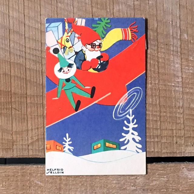 ミニ・クリスマスカード「Helfrid Selldin(ヘルフリード・セルディーン)」《200313-06》