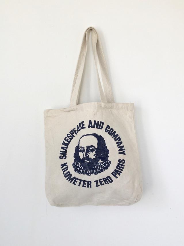 """ユーズドのトートバッグ「シェークスピア アンド カンパニー」 Used Tote Bag """"Shakespeare and Company"""""""