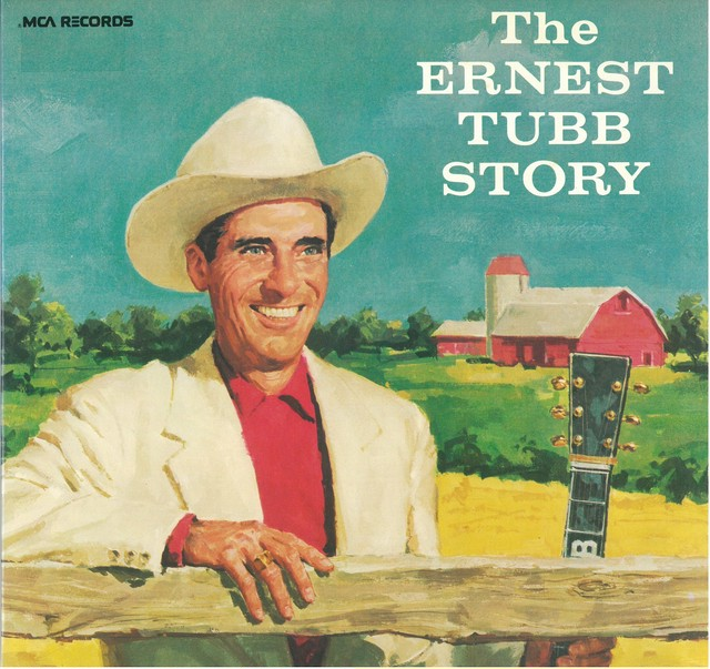 ERNEST TUBB AND HIS TEXAS TROUBADOURS / THE ERNEST TUBB STORY (LP) USA盤