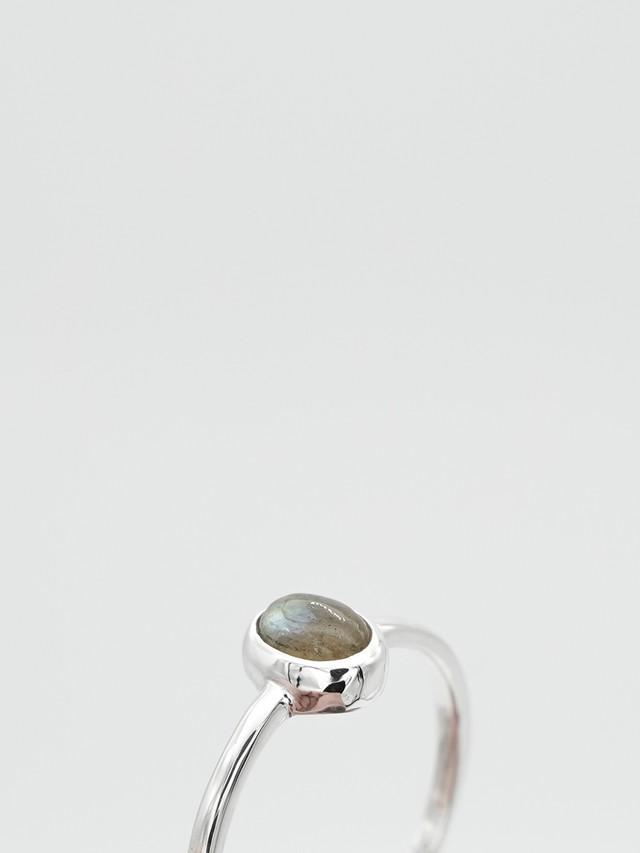 classic gem ring -labradorite-(再入荷)