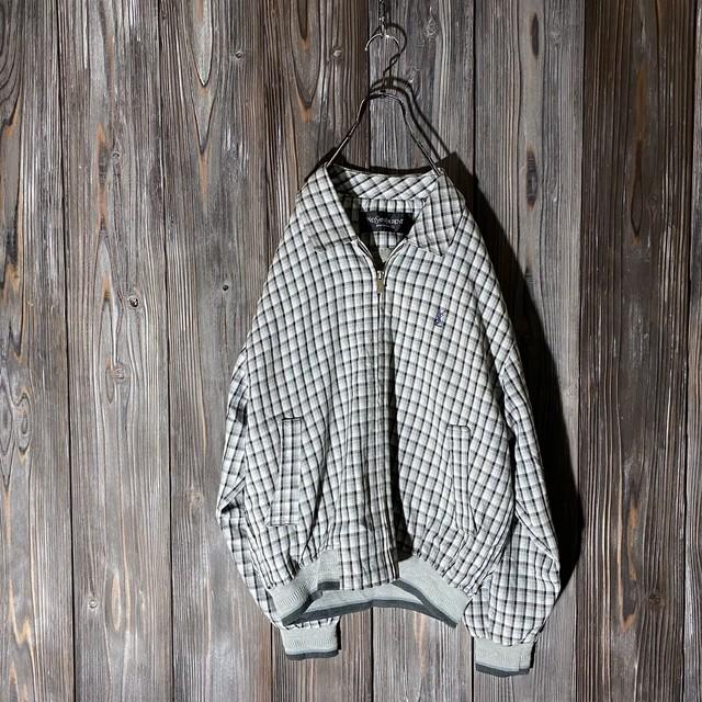 [YSL]cute  check  jacket