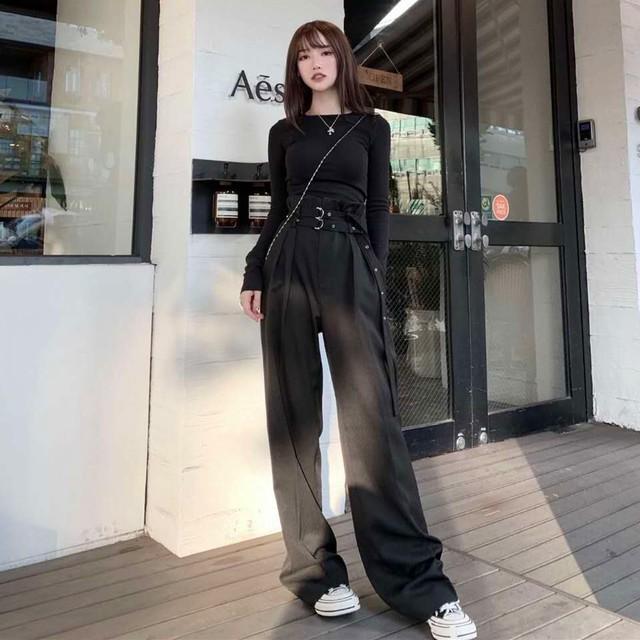 【ボトムス】ファッション無地カジュアル韓国系バンツ27940884