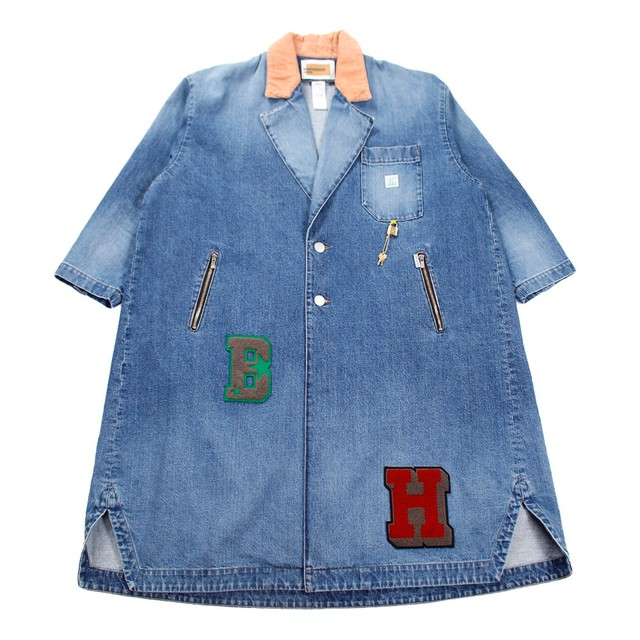 MINDSEEKER Embroidery Denim Coat SIZE;48