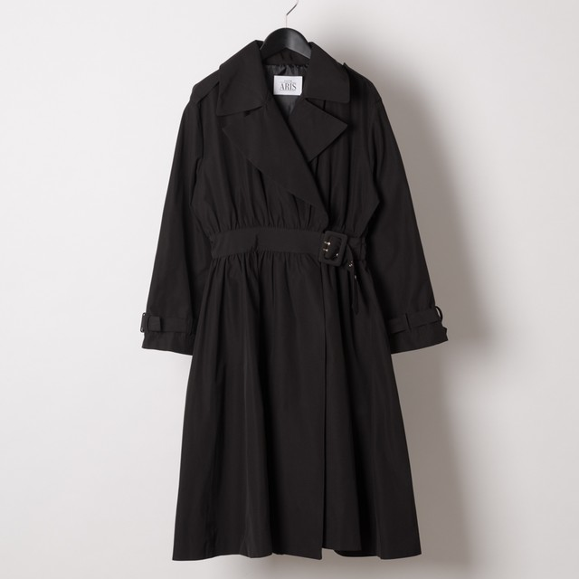 SIDE BUCKLED TRENCH COAT(AS1708013)