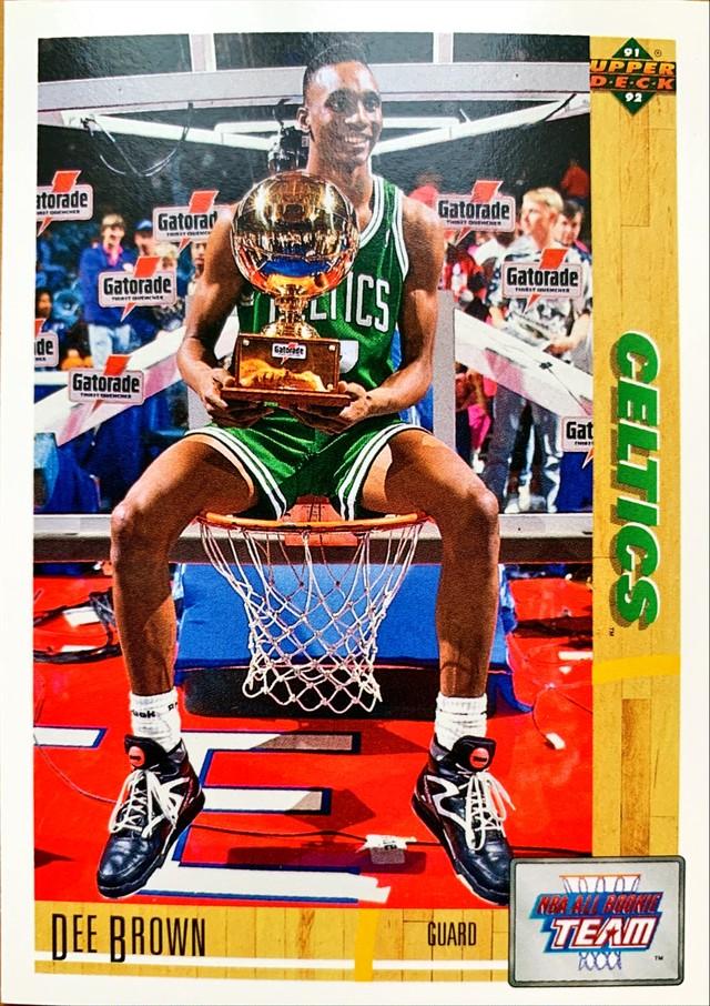 NBAカード 91-92UPPERDECK Dee Brown #37 CELTICS