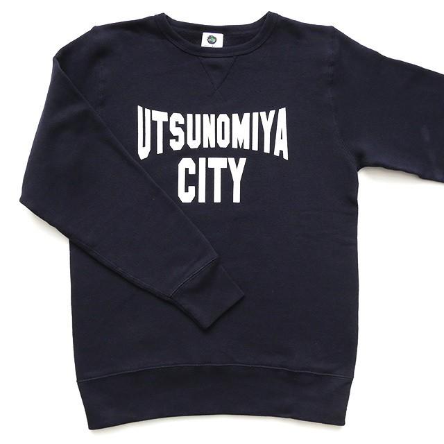 【SALE】スウェット UTSUNOMIYA CITY ネイビー