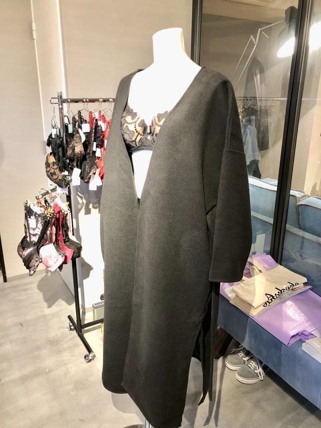 ロングコート(黒)