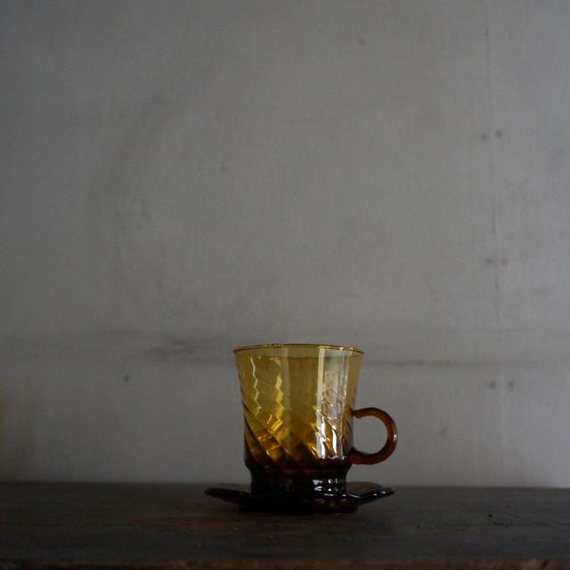 古い旧チェコのカップ&ソーサー