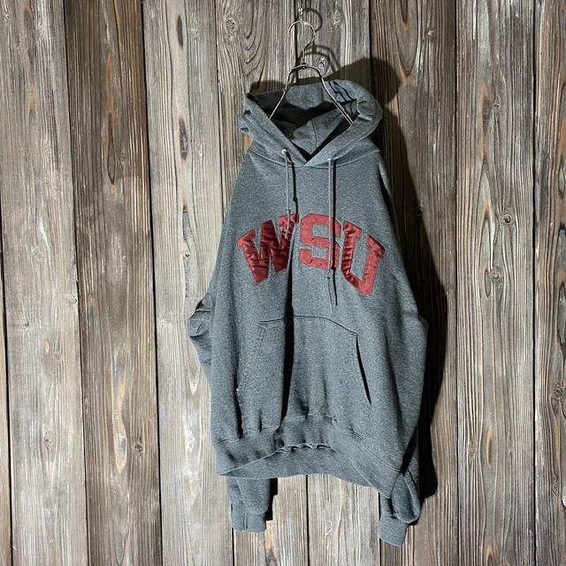 [Champion]WSU dark gray hoodie