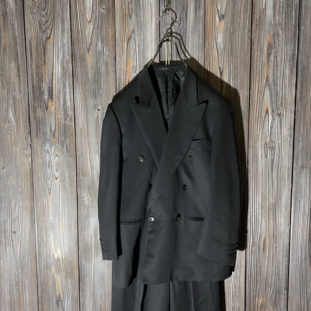 日替わりセール商品[PaulSmith]mode black double suits setup