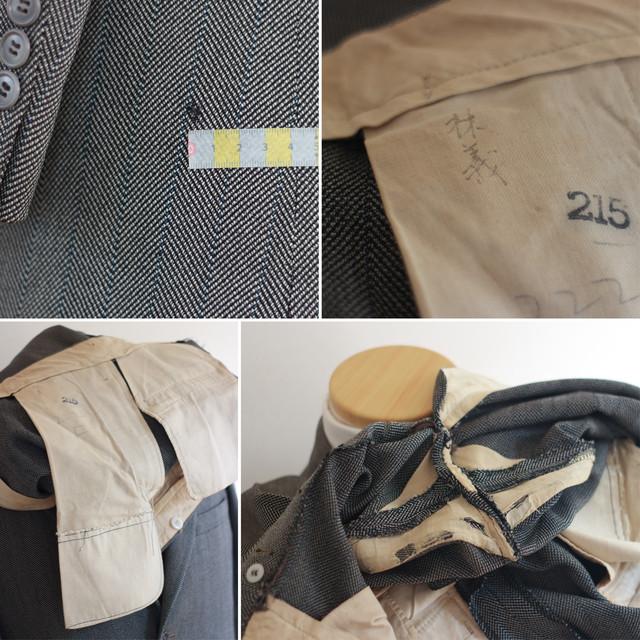 SOLD】1940年代 - 1950年代 GOLDSEAL ヴィンテージ スーツ 2ピース ...