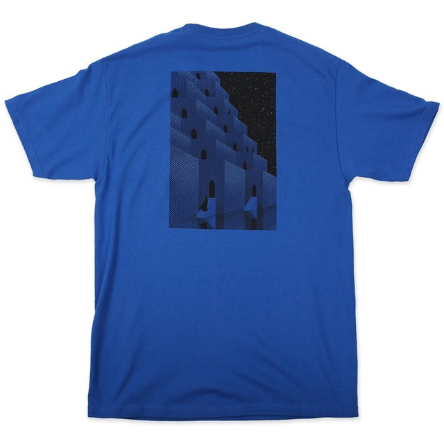 PICTURE SHOW KASBAH TEE BLUE