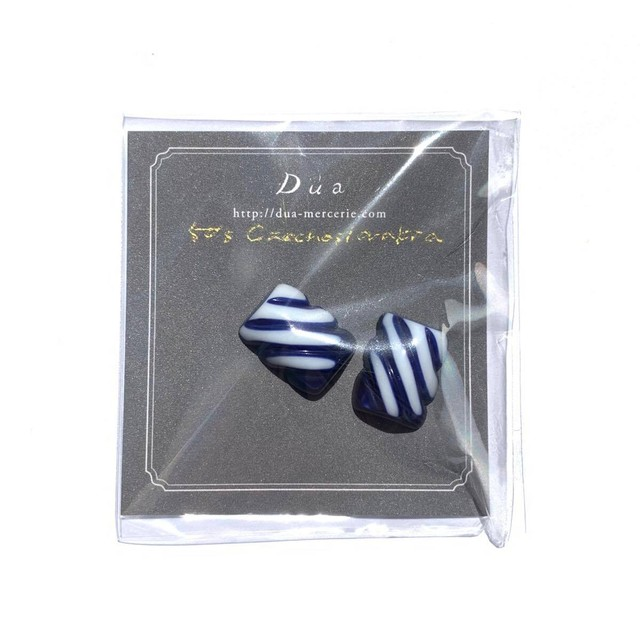50's斜めストライプカボション(2p)