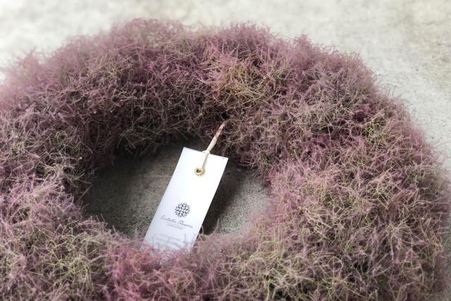Smoke tree wreathe   スモークツリーリース