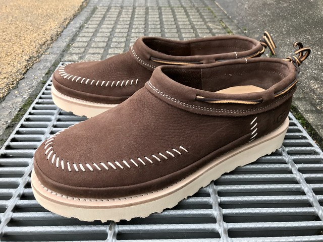 UGG CAMPFIRE SLIP-ON (DARK BROWN)