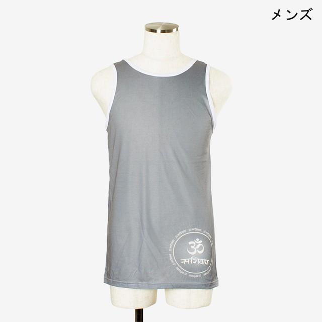ヨガプリントタンク オム2 メンズ/ユニ Men's Yoga Print tank top Om2