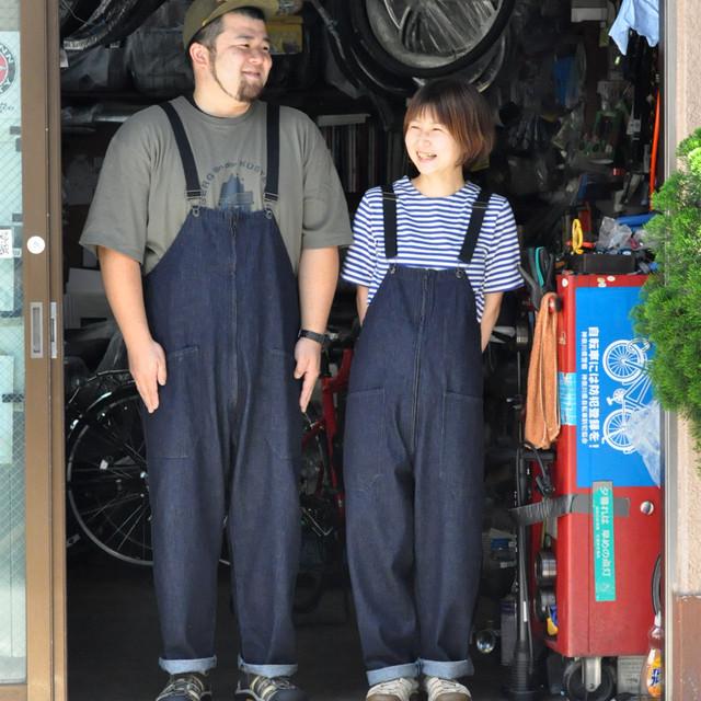 JAPAN BLUE JEANS chef overalls - indigo denim -