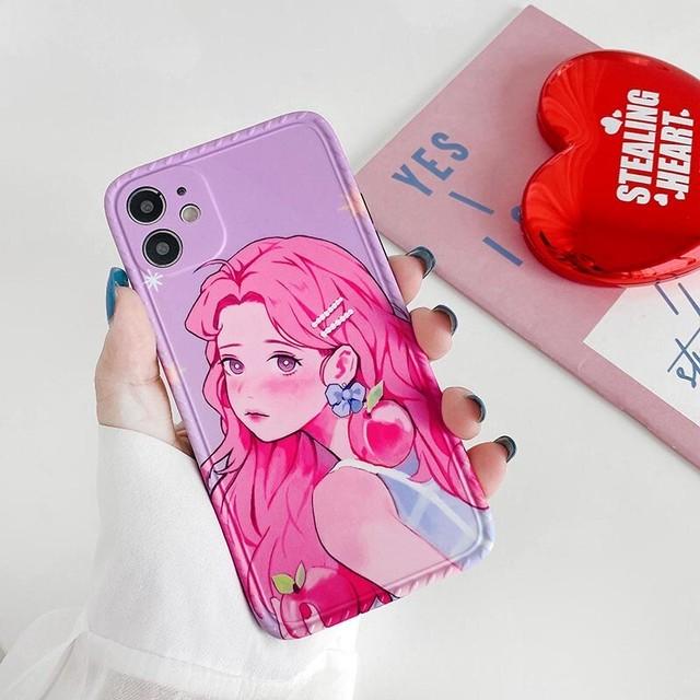 Pretty girl iphone case
