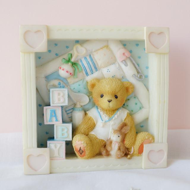 【Cherished Teddies】BABYグッズと赤ちゃんくま/フィギュア置物、壁掛け
