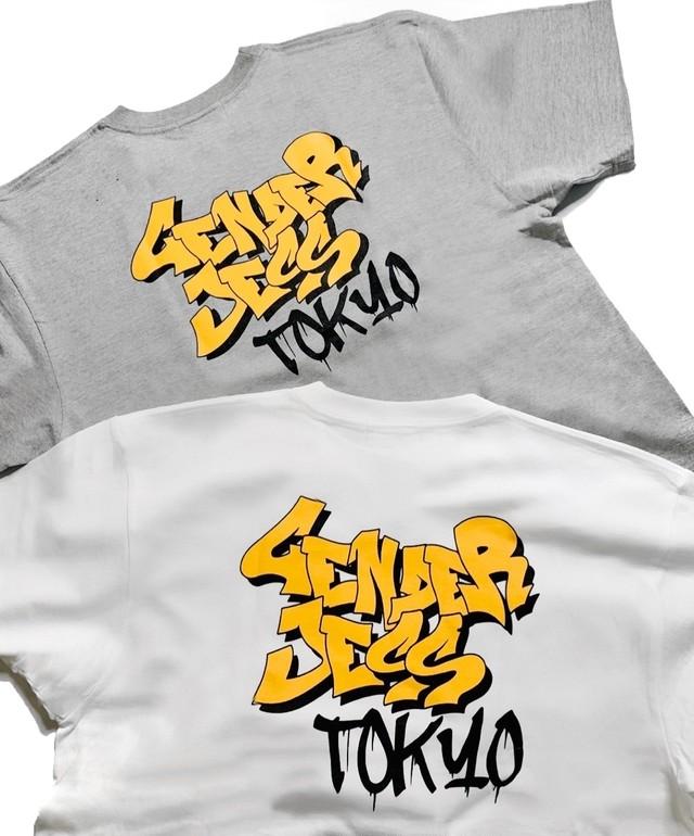 BACKイラストTシャツ【UNISEX】