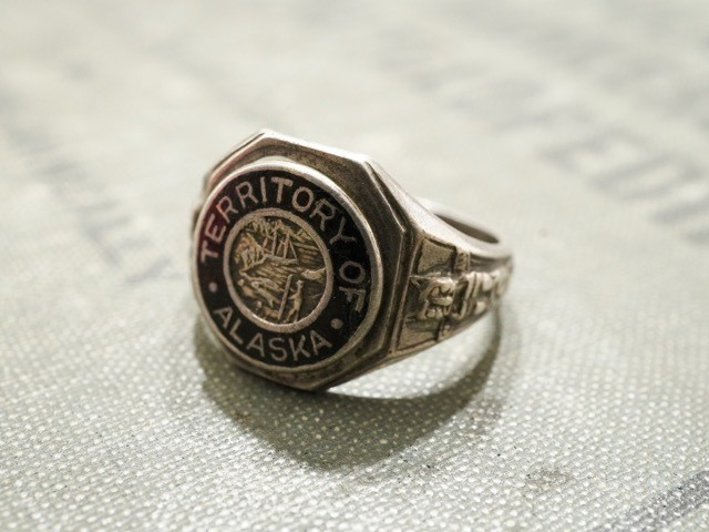 """STATE RING """" STATE OF INDIANA """""""