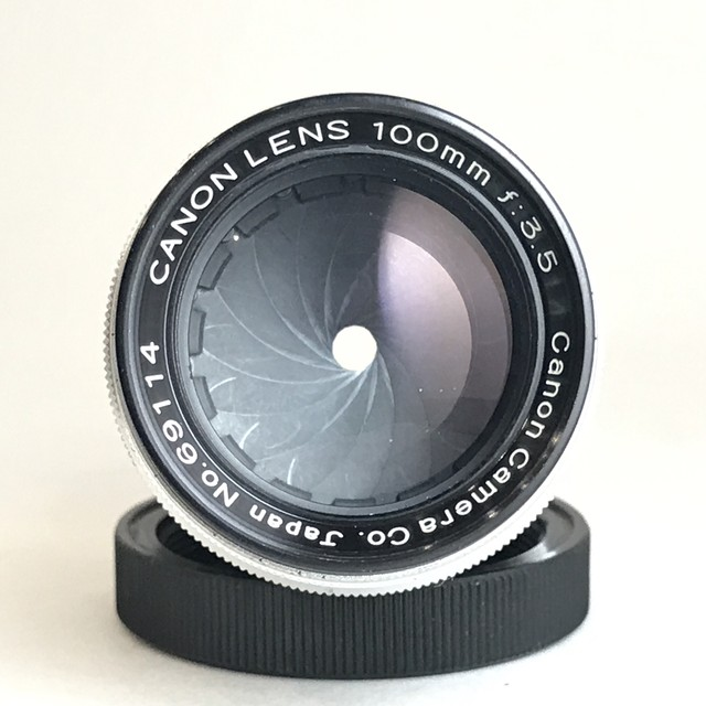 【New】Canon Lens 100mm F3.5 Ⅱ