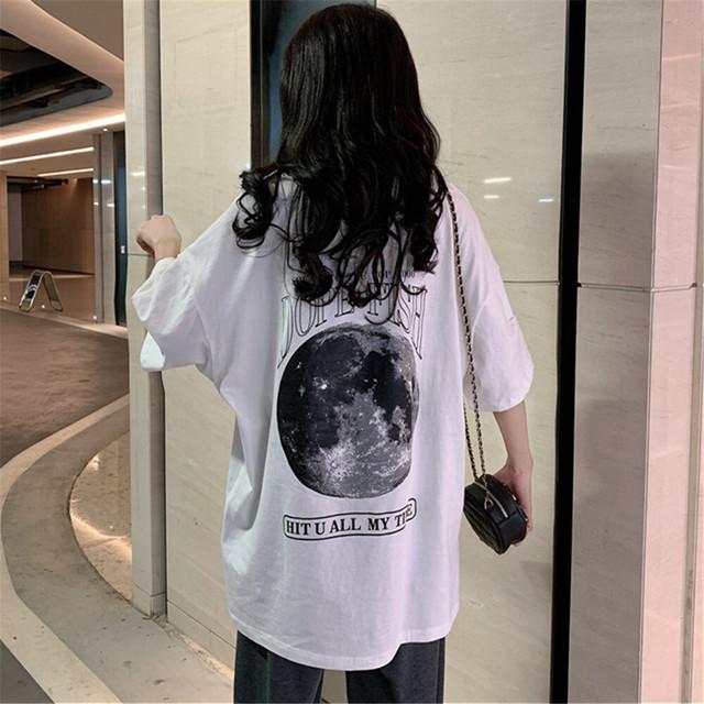 「超お得な999円セール開催中」【トップス】超人気商品プリントラウンドネック半袖 Tシャツ26922723