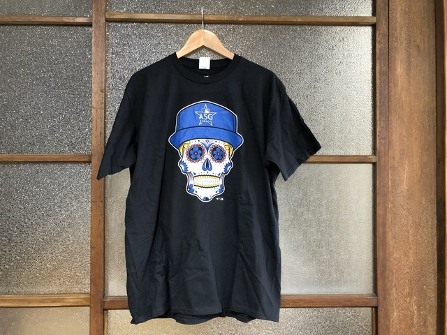 FANASTICS 2020 MLB AII-STAR GAME SUGAR SKULL TEE (BLACK)