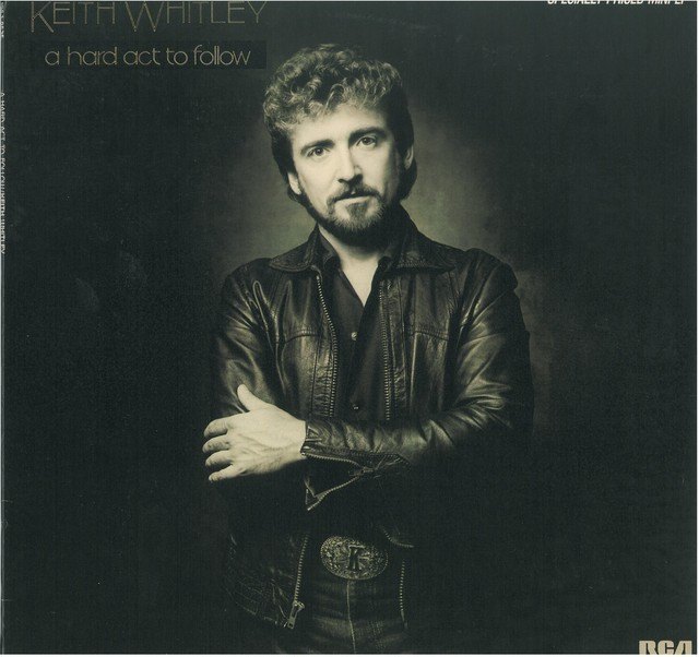 KEITH WHITLEY / A HARD ACT TO FOLLOW (LP) USA盤 SPECIALLY PRICED MINI LP