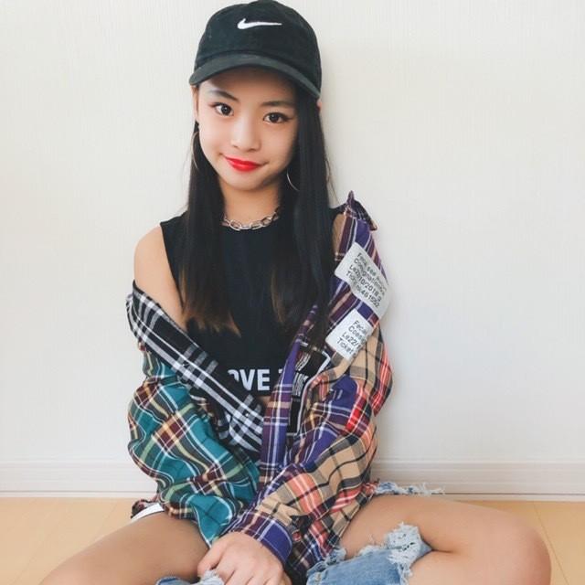 【Yuma×dance】個性的 チェック柄 ビック シルエット シャツ