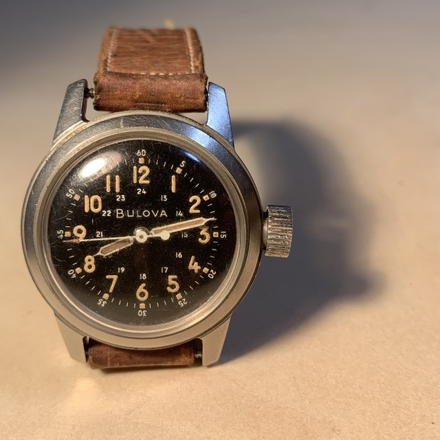 【BULOVA】ブローバ 1950's TYPE-A17A ミリタリーウォッチ OH / Vintagewatch / MIL-SPEC / US-Military