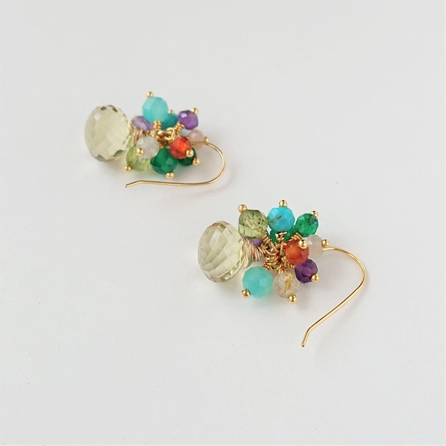 candy color pierce / earring 010